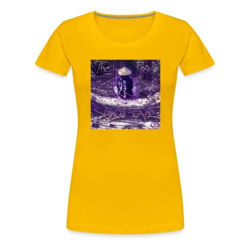 the first sense tape jpg - Women's Premium T-Shirt