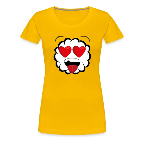 PKS Sheep Love - Frauen Premium T-Shirt