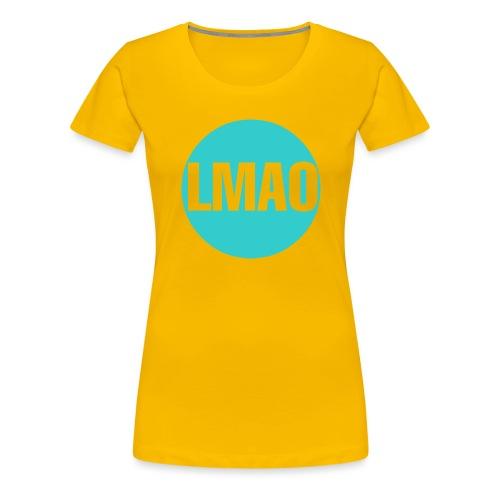 Camiseta Lmao - Camiseta premium mujer