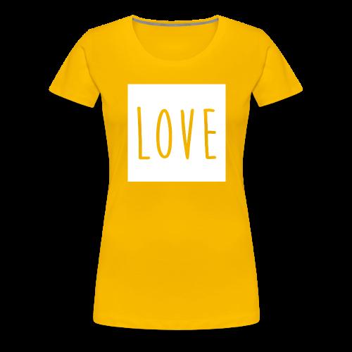 Love Women - Women's Premium T-Shirt