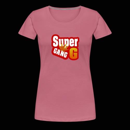 SuperG-Gang - Dame premium T-shirt