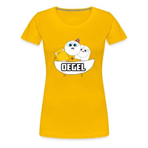 Oegel Feest Shirt! - Vrouwen Premium T-shirt