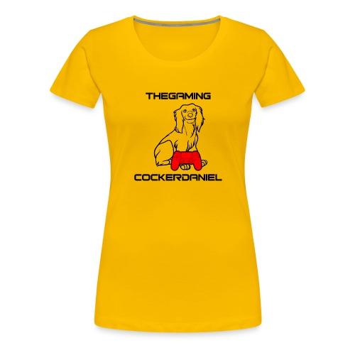 The Gaming Cockerdaniel - Women's Premium T-Shirt