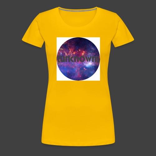 [UNKNOWN] Badget - Dame premium T-shirt