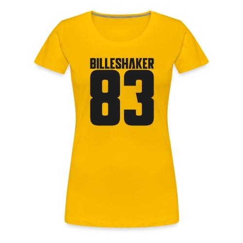 Billeshaker 83 Dark Grey - Women's Premium T-Shirt