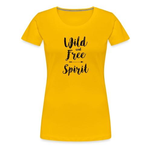 Wild-and-Free-Spirit - Women's Premium T-Shirt