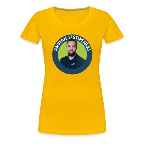 Tatun testipenkki! - Naisten premium t-paita