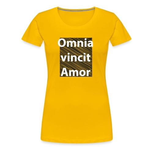 omnia vincit amor - Maglietta Premium da donna