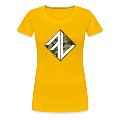 Logo Square FV Camo - Vrouwen Premium T-shirt