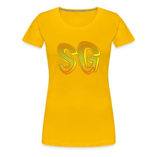 Felpa SG Donna - Maglietta Premium da donna