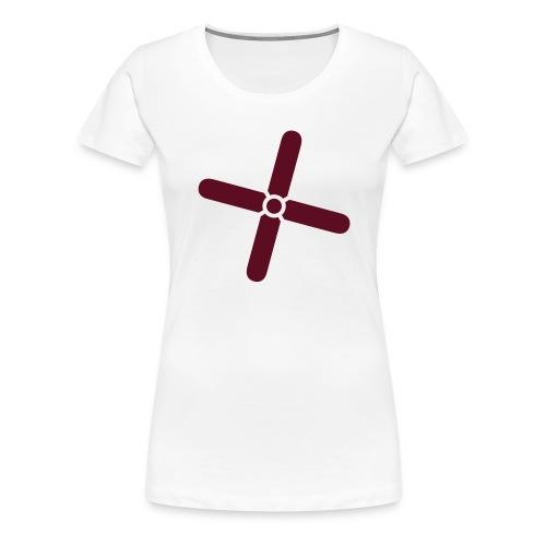Break Even Plus - Dame premium T-shirt