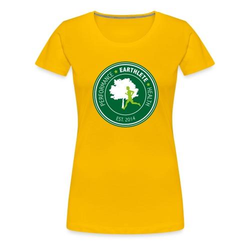 EARTHLETE Brand Logo - Dame premium T-shirt