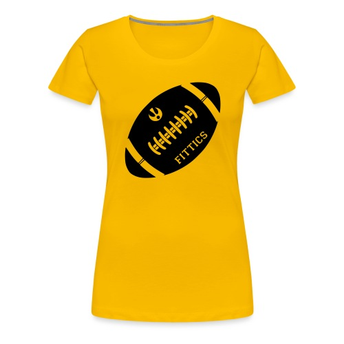 Fittics American Football - Women's Premium T-Shirt