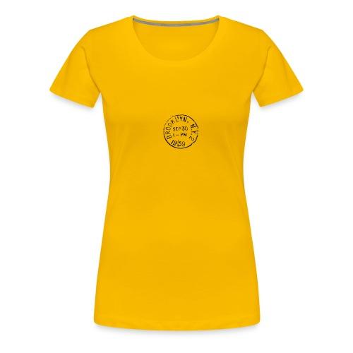 Light it up - Dame premium T-shirt