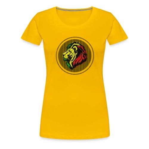 León Reggae - Camiseta premium mujer