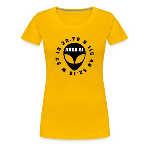 AREA51 - Camiseta premium mujer