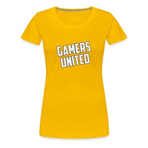 Gamers United - Women's Premium T-Shirt