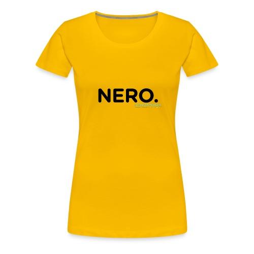 NERO. - Maglietta Premium da donna