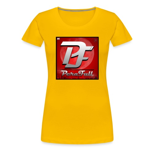 PeraFull Logo 2016 - Camiseta premium mujer