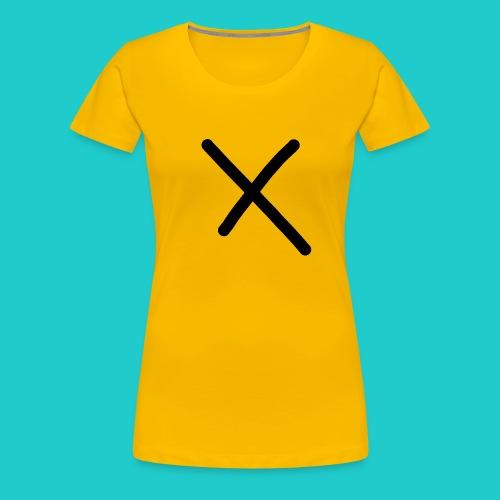 X - Frauen Premium T-Shirt
