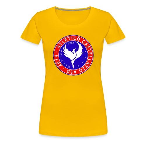 Logo Ufficiale Atletico Castellazzo - Maglietta Premium da donna