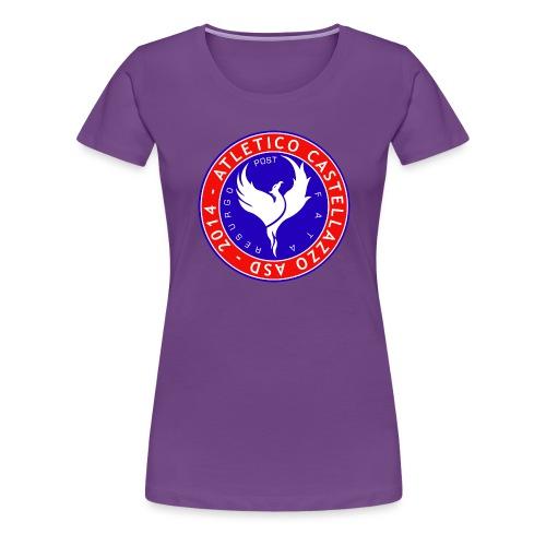 Atletico Castellazzo Logo Ufficiale - Maglietta Premium da donna