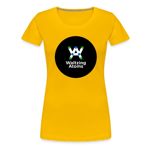 WA LOGO BATCH 400dpi png - Frauen Premium T-Shirt
