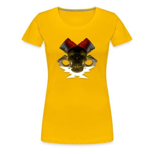 crane pistonné eclair - T-shirt Premium Femme