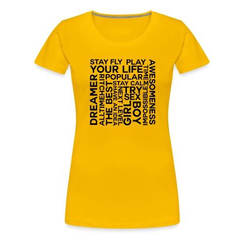 heilll png - Frauen Premium T-Shirt