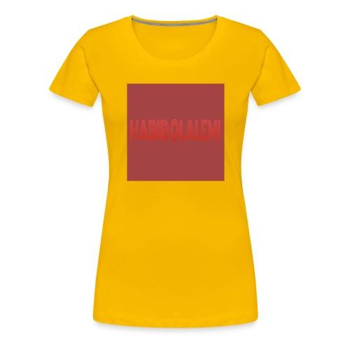 CHANNEL BANNER - Women's Premium T-Shirt