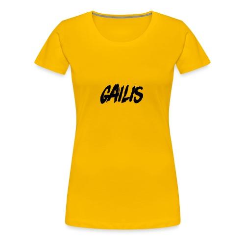Gailis - T-shirt Premium Femme