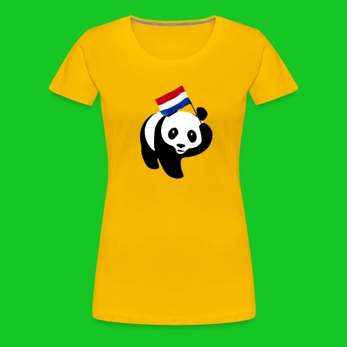Nederlandse Panda png - Vrouwen Premium T-shirt