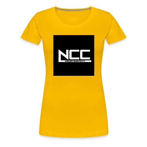 NoCopyrightCity (NCC) - Premium-T-shirt dam