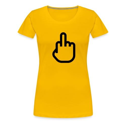 F - OFF - Vrouwen Premium T-shirt