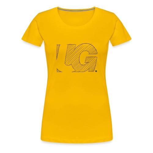 UG Logo sketch - Women's Premium T-Shirt