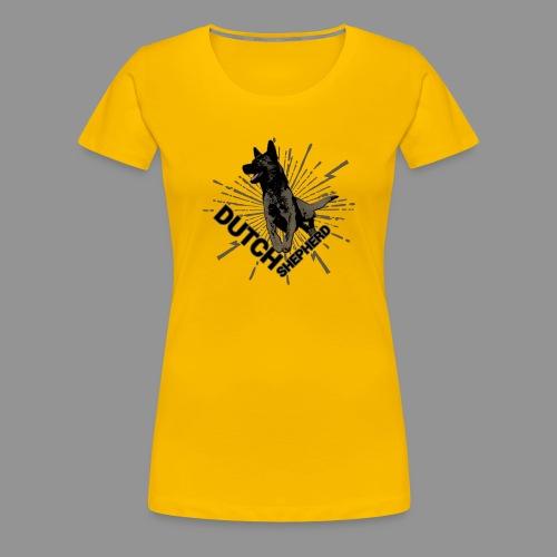 Dutch Shepherd Dog - Women's Premium T-Shirt
