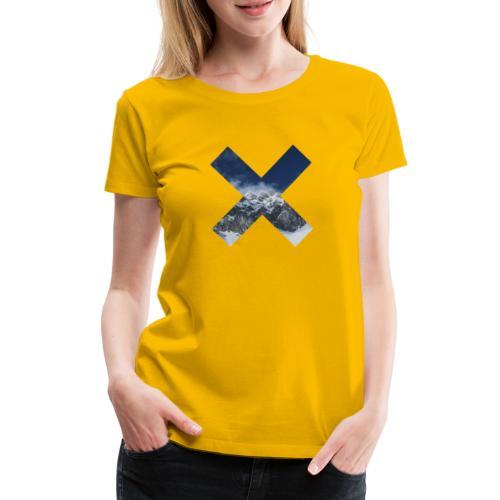 PV tshirt X snow mountain png - Frauen Premium T-Shirt