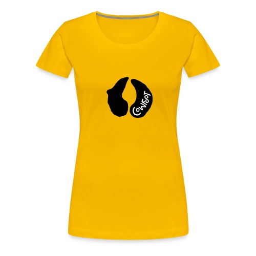 Cowfoot - Women's Premium T-Shirt