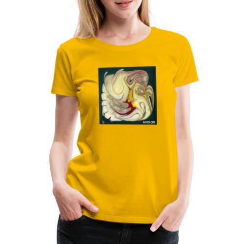 TIAN GREEN Mosaik DE114 - Axolotl - Frauen Premium T-Shirt