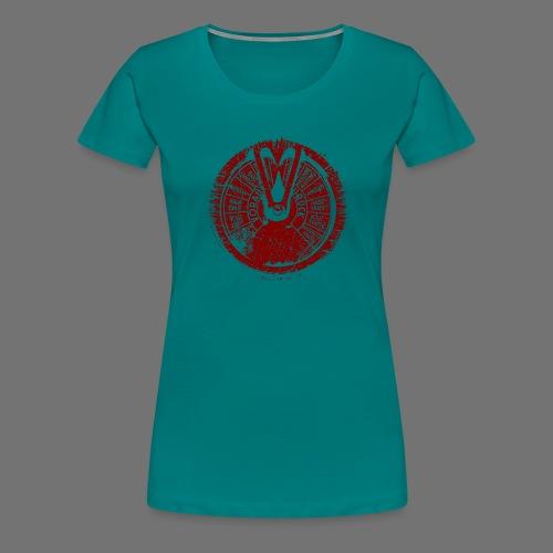 Maschinentelegraph (red oldstyle) - Women's Premium T-Shirt