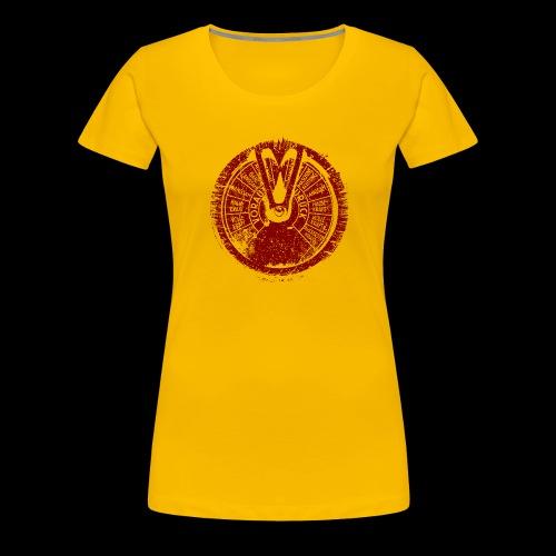 Maschinentelegraph (red oldstyle) - Frauen Premium T-Shirt