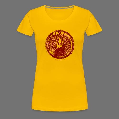 Maschinentelegraph (à l'ancienne rouge) - T-shirt Premium Femme