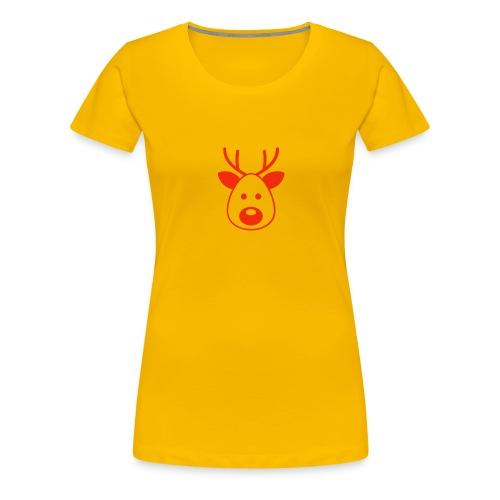 Rudolf das Rentier - Frauen Premium T-Shirt