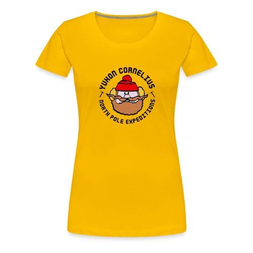 Yukon Cornelius merch - Premium-T-shirt dam