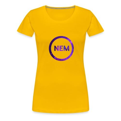 NEM OWNER - Naisten premium t-paita