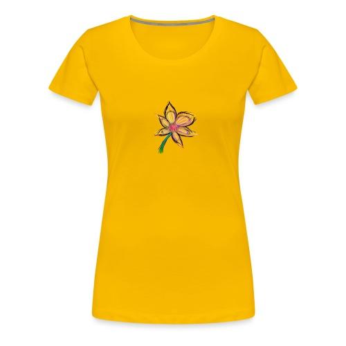 El besito del petalo - Camiseta premium mujer