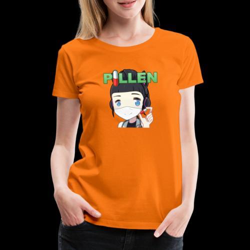 Honey Pillen - Frauen Premium T-Shirt