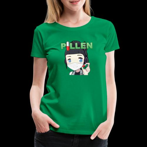 Honey Pillen - Frauen Premium T-Shirt