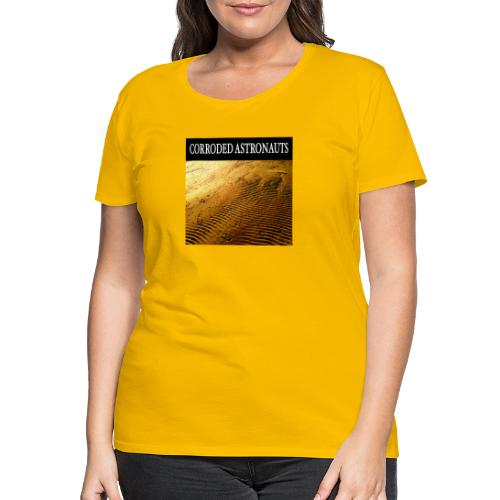 Corroded Astronauts Album Cover - Premium-T-shirt dam