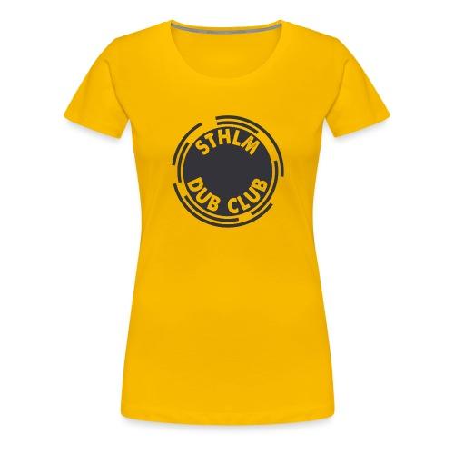 Sthlm Dub Club Logo - Premium-T-shirt dam
